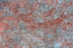 Το μέταλλο που διαβρώθηκε χρωμάτισε το σκουριασμένο βρώμικο υπόβαθρο σύστασης αφηρημένη ανασκόπηση Στοκ φωτογραφίες με δικαίωμα ελεύθερης χρήσης