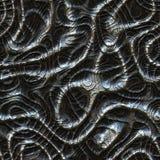 Το μέταλλο χτυπά την άνευ ραφής παραγμένη σύσταση μισθώσεων Στοκ Εικόνες