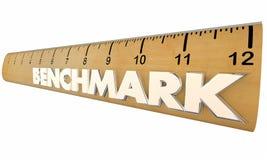 Το μέτρο συγκριτικής μέτρησης επιδόσεων συγκρίνει τον κυβερνήτη αποτελεσμάτων διανυσματική απεικόνιση