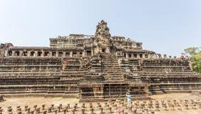 Το μέτωπο του ναού BA Phuon, Angkor Thom, Siem συγκεντρώνει, Καμπότζη Στοκ εικόνα με δικαίωμα ελεύθερης χρήσης