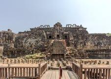 Το μέτωπο του ναού BA Phuon, Angkor Thom, Siem συγκεντρώνει, Καμπότζη Στοκ Εικόνα