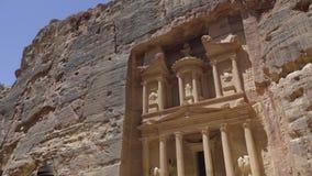 Το μέτωπο του Υπουργείου Οικονομικών στη Petra απόθεμα βίντεο