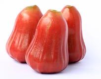 το μήλο αυξήθηκε τρία Στοκ Εικόνα