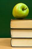 το μήλο κρατά πράσινο στοκ εικόνες