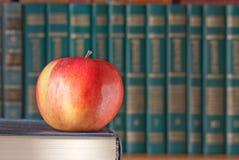 το μήλο κρατά το κόκκινο Στοκ Φωτογραφία