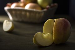 Το μήλο Στοκ Φωτογραφία