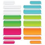 Το μήνυμα συνομιλίας βράζει διαφανής εμφάνιση W - συνομιλία SMS ελεύθερη απεικόνιση δικαιώματος