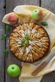 το μήλο έψησε τη φρέσκια πίτ&alp Στοκ εικόνες με δικαίωμα ελεύθερης χρήσης
