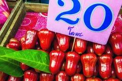 το μήλο αυξήθηκε Ταϊλανδό&s Στοκ Εικόνες