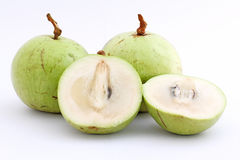το μήλο ως καρπός ι της Ασίας μακριά είδος ξέρει συνήθως το αστέρι Στοκ Εικόνες