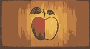 το μήλο όπως η ανασκόπηση είναι μπορεί χρησιμοποιημένη ταπετσαρία Στοκ Εικόνα