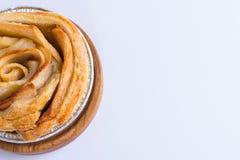 Το μίνι μήλο αυξήθηκε πίτα Στοκ εικόνα με δικαίωμα ελεύθερης χρήσης