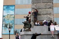 Το μίσος δεν θα σας καταστήσει μεγάλους Στοκ Φωτογραφία