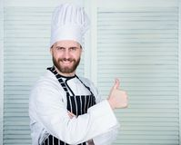 Το μαγείρεμα είναι το πάθος μου Επαγγελματίας στην κουζίνα μαγειρική κουζίνα Μάγειρας στο εστιατόριο αρχιμάγειρας έτοιμος για το  στοκ φωτογραφία με δικαίωμα ελεύθερης χρήσης