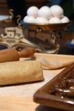το μαγείρεμα προετοιμάζ&ep στοκ φωτογραφίες