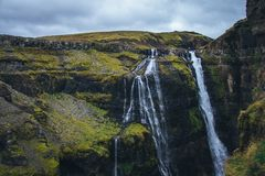 Το μαγικό έδαφος της Ισλανδίας Στοκ Εικόνα