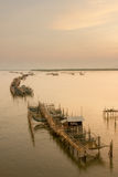 Το μακρύ χωριό ψαράδων Στοκ Εικόνες