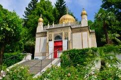 Το μαυριτανικό περίπτερο στο παλάτι Linderhof στη Γερμανία Στοκ Φωτογραφίες