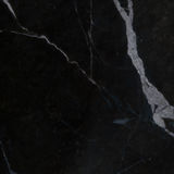 Το μαύρο μαρμάρινο φυσικό σχέδιο για το υπόβαθρο, αφαιρεί φυσικό μαρμάρινο γραπτό Στοκ Εικόνες