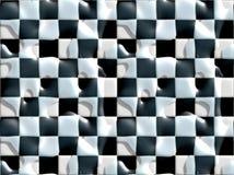 το μαύρο πάτωμα κεραμώνει το υγρό λευκό Στοκ εικόνα με δικαίωμα ελεύθερης χρήσης