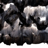 Το μαύρο υπόβαθρο μελανιού με τη βούρτσα κτυπά τις επικαλύψεις αφηρημένη σύσταση Στοκ Εικόνες