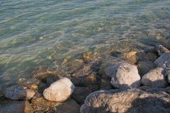 Το μεγάλο κρύσταλλο του άλατος της νεκρής θάλασσας Στοκ Εικόνες