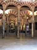 Το μεγάλο μουσουλμανικό τέμενος, επαρχία Ισπανία της Κόρδοβα Κόρδοβα στοκ εικόνα