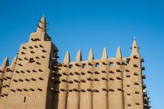 Το μεγάλο μουσουλμανικό τέμενος Djenné, Μαλί, Αφρική. στοκ εικόνες