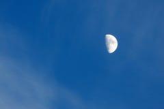 το μεγάλο μπλε φεγγάρι έλαμψε ουρανός Στοκ φωτογραφίες με δικαίωμα ελεύθερης χρήσης