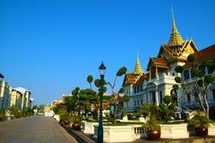 Το μεγάλο παλάτι της Ταϊλάνδης στη Μπανγκόκ 0390 Στοκ φωτογραφία με δικαίωμα ελεύθερης χρήσης