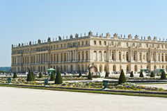 Το μεγάλο παλάτι των Βερσαλλιών Στοκ εικόνα με δικαίωμα ελεύθερης χρήσης