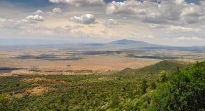 Το μεγάλο Rift Valley από το δρόμο Kamandura Mai-Mahiu Narok, Κ Στοκ φωτογραφίες με δικαίωμα ελεύθερης χρήσης