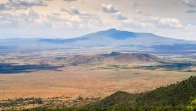 Το μεγάλο Rift Valley από το δρόμο Kamandura Mai-Mahiu Narok, Κ Στοκ Φωτογραφίες