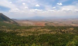 Το μεγάλο Rift Valley από το δρόμο Kamandura Mai-Mahiu Narok, Κ Στοκ εικόνα με δικαίωμα ελεύθερης χρήσης