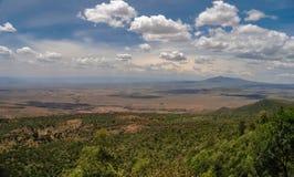 Το μεγάλο Rift Valley από το δρόμο Kamandura Mai-Mahiu Narok, Κ Στοκ φωτογραφία με δικαίωμα ελεύθερης χρήσης