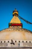 Το μεγάλο stupa Στοκ φωτογραφία με δικαίωμα ελεύθερης χρήσης