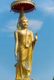 Το μεγάλο άγαλμα του Βούδα Στοκ φωτογραφίες με δικαίωμα ελεύθερης χρήσης