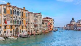 Το μεγάλο κανάλι στη Βενετία στοκ εικόνα με δικαίωμα ελεύθερης χρήσης
