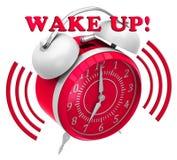 Το μεγάλο κουδούνι εξασφαλίζει ξυπνήστε Στοκ Εικόνα