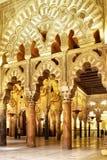 Το μεγάλο μουσουλμανικό τέμενος της Κόρδοβα Στοκ Εικόνα