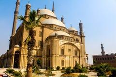Το μεγάλο μουσουλμανικό τέμενος του Mohammed Ali Στοκ φωτογραφίες με δικαίωμα ελεύθερης χρήσης