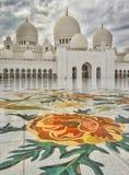 Το μεγάλο μουσουλμανικό τέμενος Στοκ Φωτογραφίες