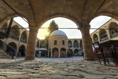 Το μεγάλο πανδοχείο, Buyuk Han στη Λευκωσία, βόρεια Κύπρος Στοκ Εικόνες