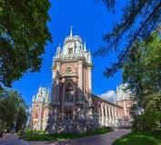 Το μεγάλο παλάτι σε Tsaritsyno Μόσχα Ρωσία Στοκ Εικόνα