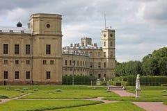Το μεγάλο παλάτι της Γκάτσινα Ρωσία Στοκ φωτογραφία με δικαίωμα ελεύθερης χρήσης