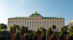 Το μεγάλο παλάτι του Κρεμλίνου Στοκ φωτογραφία με δικαίωμα ελεύθερης χρήσης