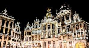Το μεγάλο παλάτι των Βρυξελλών Στοκ φωτογραφία με δικαίωμα ελεύθερης χρήσης
