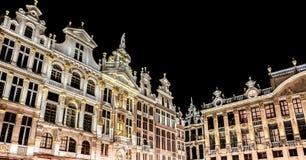 Το μεγάλο παλάτι των Βρυξελλών Στοκ Φωτογραφία