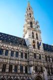 Το μεγάλο τετράγωνο παλατιών στις Βρυξέλλες Στοκ φωτογραφία με δικαίωμα ελεύθερης χρήσης