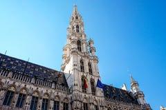 Το μεγάλο τετράγωνο παλατιών στις Βρυξέλλες Στοκ εικόνα με δικαίωμα ελεύθερης χρήσης